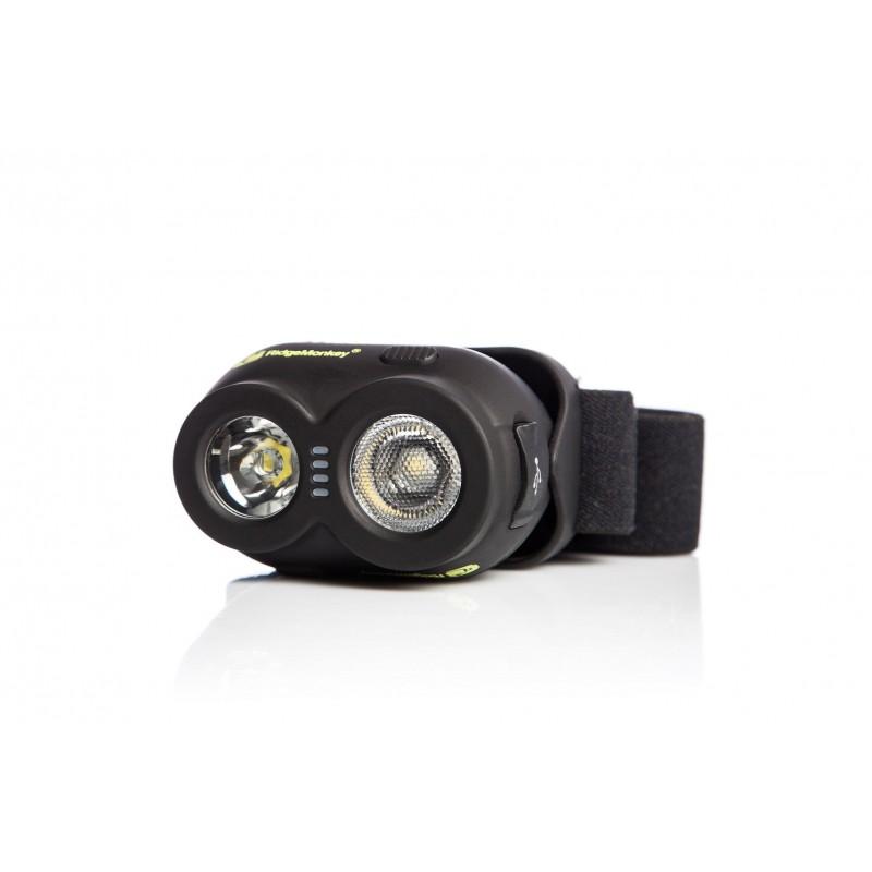 LAMPE FRONTALE RECHARGEABLE USB VRH150 RIDGEMONKEY