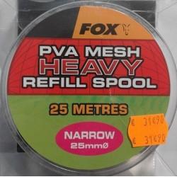 Recharge filet soluble carpe fox pva diamètre 25 mm